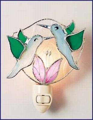 Flocking Hummingbird Night Light