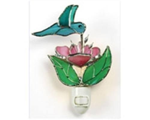 Hummingbird and Flower Night Light