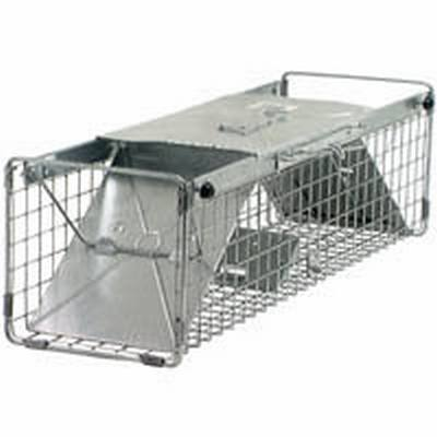 Large Squirrel Trap 24X7X7  Humane Live Animal Cage Traps