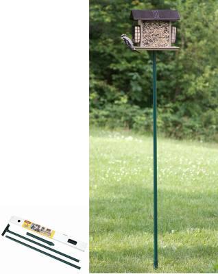 """Stokes Select Bird Feeder Pole Kit 6'4"""" x 1"""" O.D."""