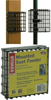 Pole Mounted Suet Feeder