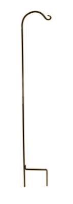 Wrought Iron Shepherd Hook 90 in.**Single