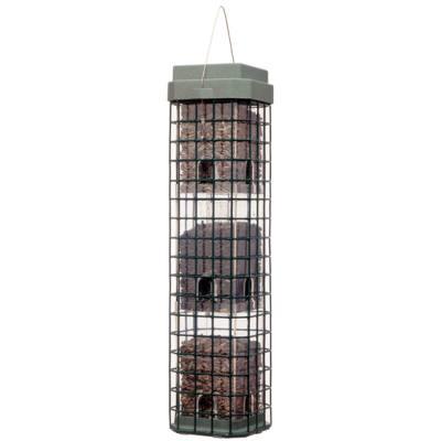 Squirrel Dilemma Caged Bird Feeder