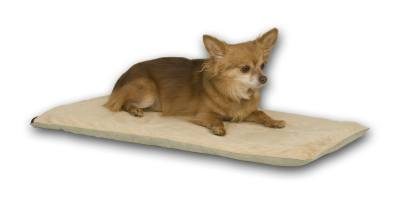 Thermo Pet Mat 14in.X28in. Mocha
