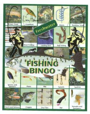 Fishing Bingo