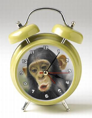 Wacky Wakers Chimp Alarm Clock