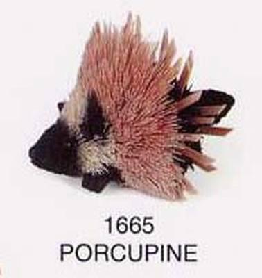Porcupine, Black, 5 in.