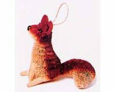 Fox, Sitting, Ornament