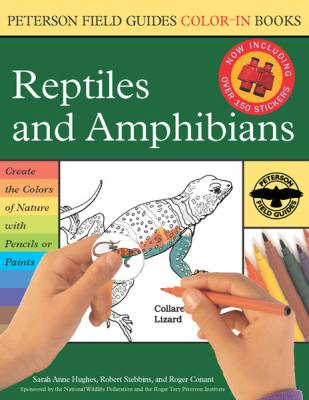 Reptiles & Amphibians Color-In-Book