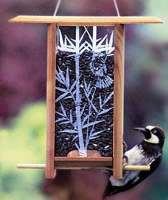 Bamboo Grove Teahouse Bird Feeder