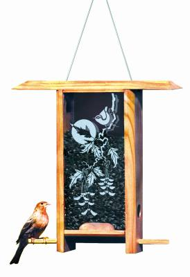 Vine Maple Teahouse Bird Feeder
