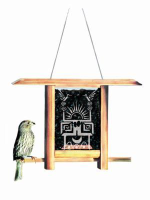 Dancing Sun Teahouse Bird Feeder
