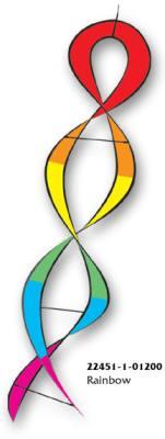 Rainbow DNA Helix Twister