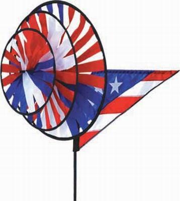 Patriotic Triple Spinner