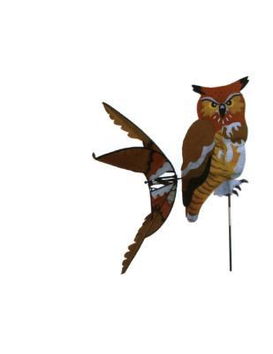 Great Horned Owl Spinner