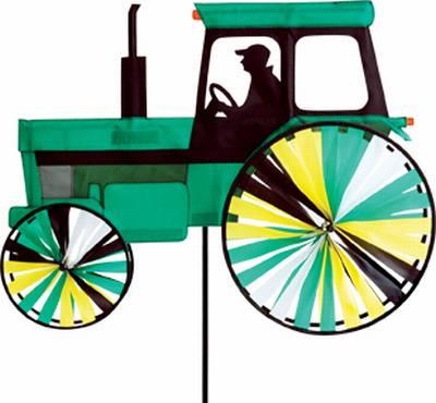 Modern Tractor Green
