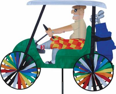 Golf Cart Spinner