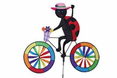 Ladybug Bicycle Spinner