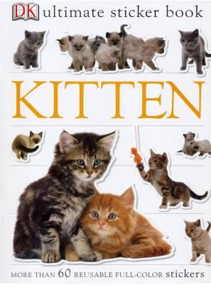 Kitten Sticker Book