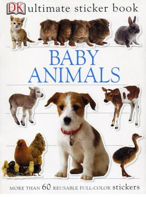 Baby Animals Ultimate Sticker