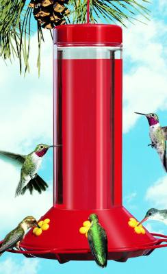 Original Glass Hummingbird Feeder, 30 oz