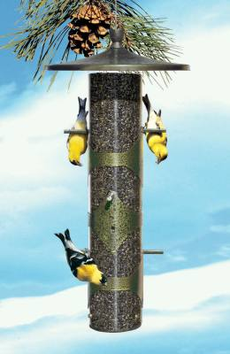 Upside-Down Finch Feeder