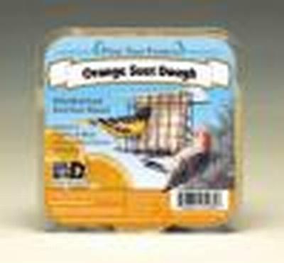 13.5 oz Orange Suet Dough Cake