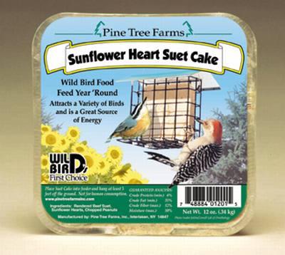 Sunflower Heart Suet
