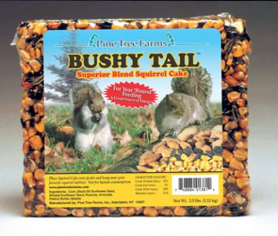 2.5 lb Bushy Tail Cake