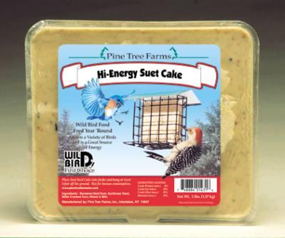 Hi-energy Bird Suet Cake - 3 lbs.