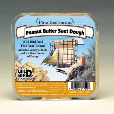 Peanut Butter Suet Dough