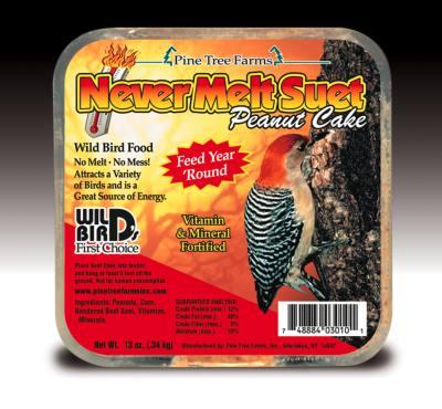 Never Melt Suet Peanut 12 oz
