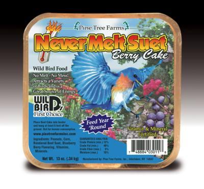 Never Melt Suet Berry 12 oz