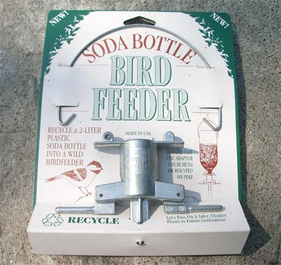 Metal Soda Bottle Feeder