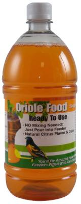 32 oz. Orange Oriole Nectar