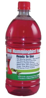 32 oz. Red RTU Hummingbird Nectar