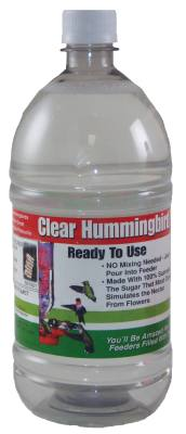 32 oz. Clear RTU Hummingbird Nectar