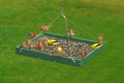 Recycled Large Hanging Platform Feeder