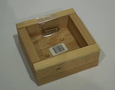 Bird House or Feeder Post Mount Box
