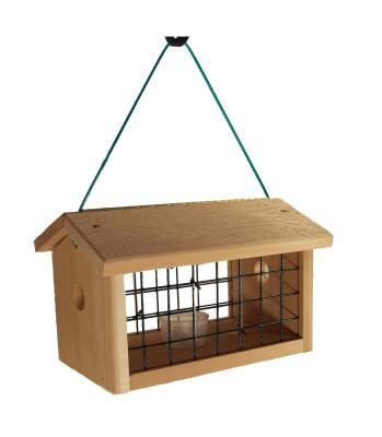 ***Protected Bluebird Jail Feeder