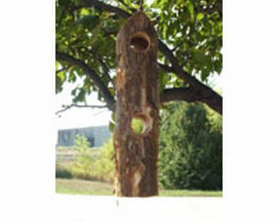 Songbird Cedar Suet Log Feeder