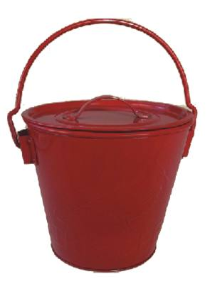 Red Seed Bucket, 8 Quart