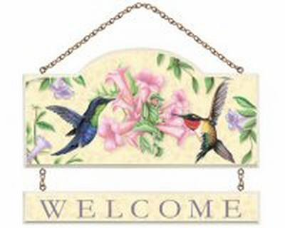 Sweet Nectar Wall Plaque