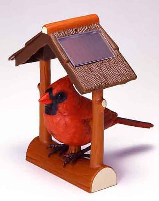 Takara Breezy Singers Cardinal Outdoor Animated Solar Powered