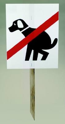 Doggie Don't Doo Doo Signs