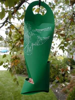 Popoutz Seed & Mealworm Feeder