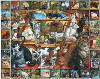 World of Cats 1000 Piece Jigsaw Puzzle