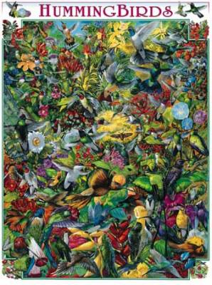 Hummingbirds 1000 Piece Jigsaw Puzzle
