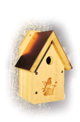 Copper Top Bluebird House