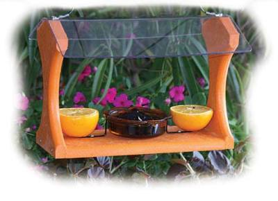 Oriole Feeder - Recycled Fruit Bird Feeders